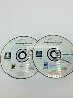 Sony PlayStation 1 PS1 Disc Only Tested Parasite Eve II Ships Fast