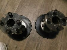 Vintage Dixon ZTR rear drive hubs and sprockets