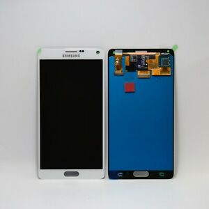 Samsung Galaxy Note 4 N910 F Lcd Touch Screen Display Full Original White