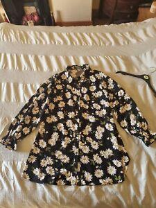 Missguided Shirt Dress Size 14