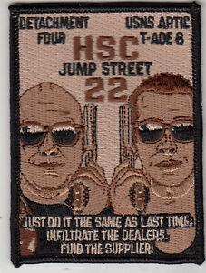 HSC-22 SEA KNIGHTS DESERT 22 JUMP STREET DET FOUR PATCH