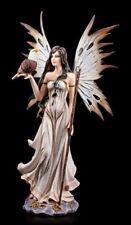 Figura ELFOS CON ÁGUILA Y Varita Mágica - Hada Bruja Mago Fantasy
