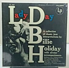 Billie Holiday - Lady Day - COLUMBIA CL 637 FACTORY SEALED