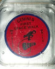 Nuevo Omega Original Gemini 4 IV Trasera Cristal insertar Ltd Edt Speedmaster Luna Reloj