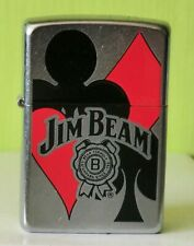 Zippo jim beam card suits
