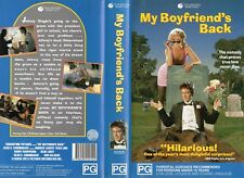 MY BOYFRIEND'S BACK - VHS - PAL - NEW - Never played! - Original Oz release