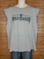 Harley Davidson 2008 Gray Jackson Hole Wyoming Graphic T-Shirt Mens Size XL EUC