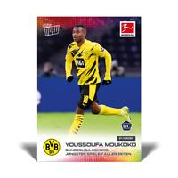 Topps Now Bundesliga 2020-21 - Card 45 - Moukoko - Borussia Dortmund RC Rookie