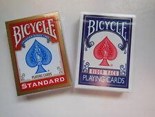 LOT 3 option B- 2 JEUX ENTIERS SPECIAUX - BICYCLE - DOS BL OU RO -Tour de MAGIE