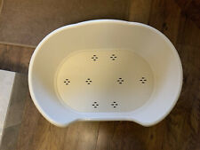 New listing Large Plastic White Dog Pet Bed, Dog Cat Basket, you can put any filling in