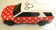 Disney Parks Minnie Van GM Chevy Toy Car Red White with Polka Dots New Licensed
