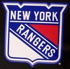 Window Bumper Sticker NHL Hockey New York Rangers NEW