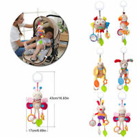 Hanging Stroller Baby Kid Animal Plush Rattles Infant Bell Bed Toy Doll Soft Toy
