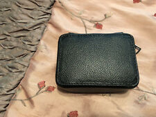"COACH - PILL BOX IN SPORT CALF LEATHER ""BLACK"" F25439 NEW W/TAGS"