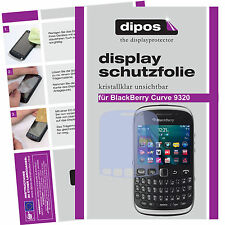 1x BlackBerry Curve 9320 Film de protection d'écran protecteur cristal clair