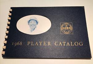 1968 PGA TOUR PGA of America Player Book Media Guide Nicklaus Palmer VERY RARE