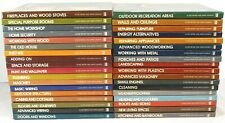 Time Life Home Repair And Improvement Books 36 Total 1976-1983 Excellent Shape!