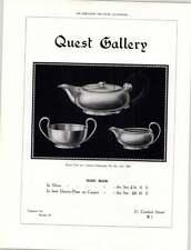 1925 Quest Gallery Handmade Silver Conduit Street