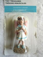 Celebrate It Tiny Treasures Shoreline Sailor Dress Fairy w/ Pink Wings Miniature