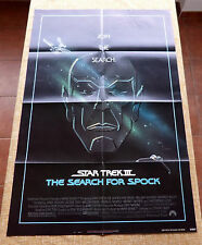 Star Trek III The Search for Spock Movie Poster, Folded, Original, 1 Sheet, 1984
