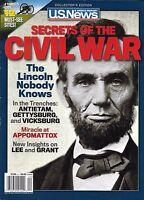 U.S. News Magazine Civil War Secrets Abraham Lincoln Gettysburg Appomattox 2012