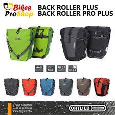 2017 ORTLIEB Back Roller PLUS / PRO (Pair) Bike Panniers QL2.1 IP64 WATERPROOF