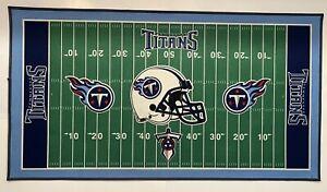 Wincraft Sports Tennessee Titans Football Mat 52inX28in