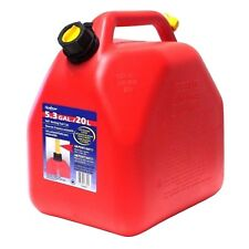 Scepter 20L Red Fuel can - Jerry Can - Dumpy - with anti glug spout