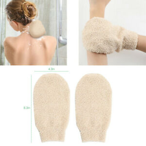 2Pcs Bath Shower Gloves Mitts for Exfoliating and Body Scrubber Exfoliating Tool