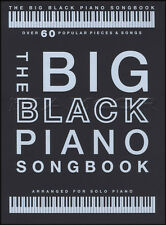 The Big Black Piano Songbook Solo Piano Sheet Music Book Adele Beethoven