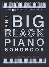 Il grande nero pianoforte Songbook ASSOLO DI PIANOFORTE spartiti musicali LIBRO Adele Beethoven