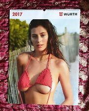 Würth Kalender 2017 Erotik Sammler Frauen Mädchen