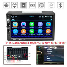 7'' In-Dash Android Multi-touch Screen 1G+16G HD Navi Wifi Bluetooth MP5 Player