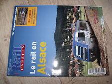 $$ Rail Passion N°106 CF Alsace Z 850 BB 25100 Z 600 25 ans TGV