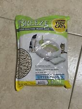 New listing New- Tidy Cats Breeze Pellets - Two 3.5 lb bags And Four 10x Breeze Cat Pads