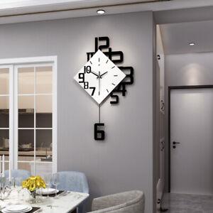 Swing Wall Clock Modern Nordic Style Living Room Fashion Decor pendulum Clocks