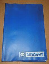 Bordmappe Mappe Pouch  Nissan  80er Jahre