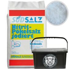 Profi Pökelsalz jodiert 0,85<1,0% Nitritsalz Siedesalz Pökeln Salz 4kg Eimer