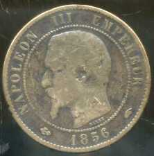 FRANCE  FRANCIA   10 centimes NAPOLEON III   1856 A  (8)