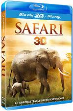SAFARI 3D - BLU-RAY - REGION B UK