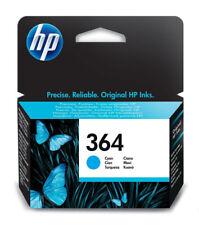 More details for genuine hp 364 cyan ink jet printer cartridge, cb318, cb318ee