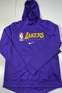 Los Angeles Lakers Nike Team Player Issued Team Exclusive Hoodie - Size Large L