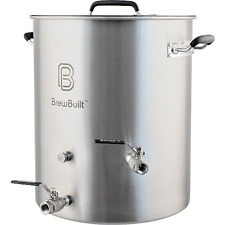 BrewBuilt™ Whirlpool Kettle - 10 to 50 Gallon, Welded Couplers, Induction Ready