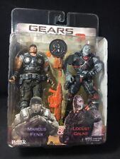 NECA Player Select Gears of War 3 Marcus Fenix & Locust Grunt TRU 2 Pack NOS