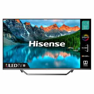 "Hisense 50U7QFTUK 50"" 4K Ultra HD QLED TV - Black"