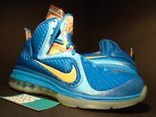 Nike Air Max LEBRON IX 9 CHINA NEPTUNE BLUE ORANGE SILVER GREY 469764-800 10.5