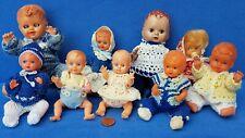 KONVOLUT ALTE PUPPEN BABY DOLL VINTAGE PUPPENHAUS PUPPENSTUBE
