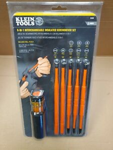 Klein Tool 8-in-1 Insulated Interchangeable Screwdriver Set