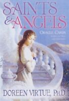 Saints And Angels Oracle Cards by Virtue PhD, Doreen Cards Book The Fast Free