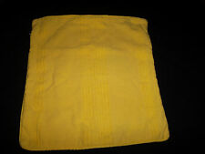 Tommy Hilfiger 20x20 Lemon Yellow Accent Toss Pillow Zip Closure